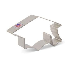Graduation Cap Cookie Cutter 4 3/8 inch by Ann Clark