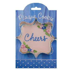 Square Plaque - Make More Cookies Cookie Cutter