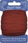 Red Acrylic Yarn - 20 yard by Craft Trim