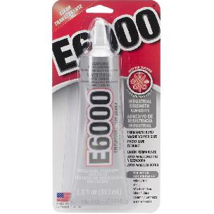 E6000 Multipurpose Adhesive - 2 ounce Clear