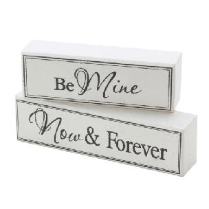 Be Mine Now and Forever Blocks