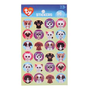 ty  Beanie Boo Pet Stickers