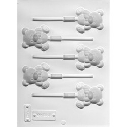 Teddy Bear Lollipop Mold - Loran Oils