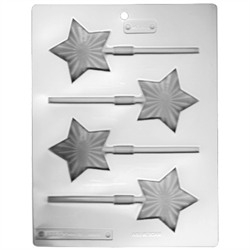 Bright Stars Lollipop Sheet Mold