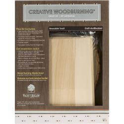 Creative Woodburning Craft Kit I - Walnut Hollow