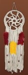 Colorful Dreamcatcher Zenbroidery Macrame' Wall Hanging Kit 8 x 24 inch