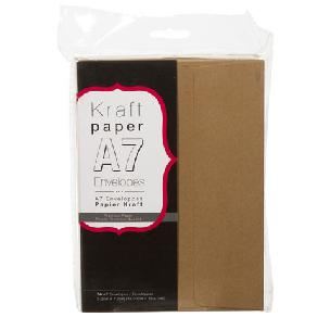 core'dinations Envelope Value Pack - Smooth Kraft - A7 - 50 pack