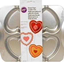 Heart Pops Cookie Pan by Wilton