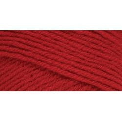 Cherry Red - Red Heart Super Saver Yarn - 7 oz