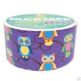 Duck Tape - Owls 10 yard roll