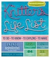 Knitters Life List To Do, To Know, To Explore, To Make