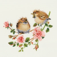 Rose Chick-Chat by Valerie Pfeiffer - Heritage Stitchcraft