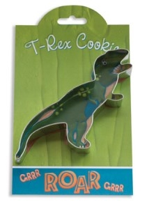 T-Rex - Make More Cookies Cookie Cutter by Ann Clark