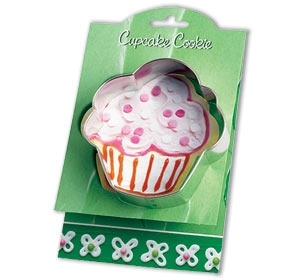 Cupcake Make More Cookies Cookie Cutter by Ann Clark