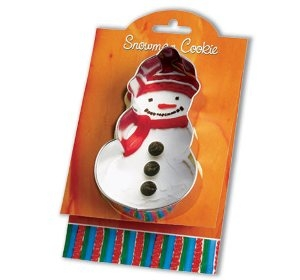 Snow Man - Make More Cookies Cookie Cutter by Ann Clark