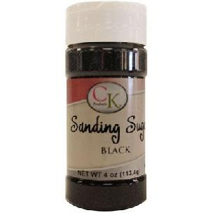 Black CK Sanding Sugar - 4 oz