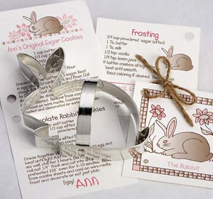 Rabbit Cookie Cutter by Ann Clark