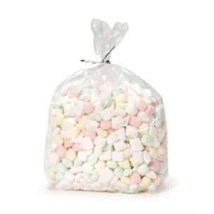 Treat Bags - Clear - 5  x 11 inches - 20 pieces