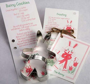 Bunny Cookie Cutter by Ann Clark