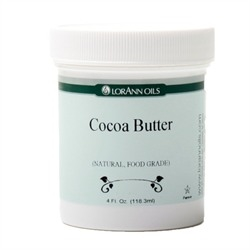 Cocoa Butter - 4 oz Natural Food Grade