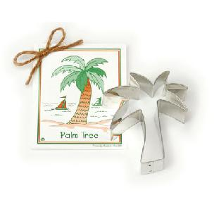 Palm Tree Cookie Cutter 4 1/4 inches