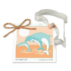 Dolphin Cookie Cutter 4 inches