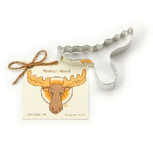 Moose Head Cookie Cutter 5 inches