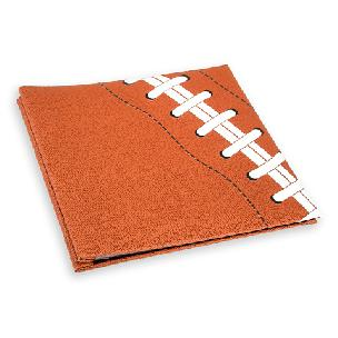 Football Textured Sports Memory Book - 12 x 12 inches