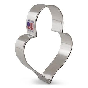 Heart Padlock - LilaLoa's Cookie Cutter by Ann Clark