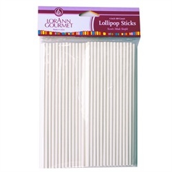 Lollipop Sticks, Large (100 pack) 6 inch by LorAnn Gourmet