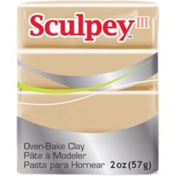 Tan Sculpey III Polymer Clay 2oz