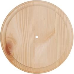 Pine Wood Clock Face 11