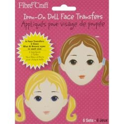 Doll Faces - Iron On Transfers