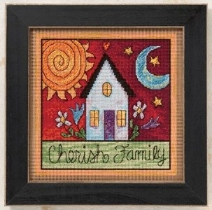 Cherish Family Kit - Mill Hill Counted Cross Stitch Kit