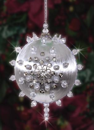 Icy Night - Christmas Ormament Beaded Craft Kit