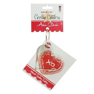 Heart Cookie Cutter 3 3/8 inches by Ann Clark