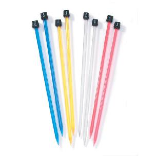 Knitting Needles - 10 inch sz 8, 9, 10 mm