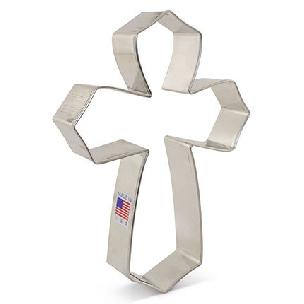 Cross - Large by Tunde's Creations Cookie Cutter 4 inch