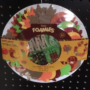 Thanksgiving - Foamies Foam Party Platter