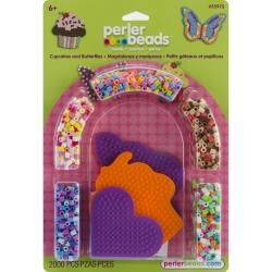 Perler Fused Bead Kit - Cupcakes and Butterflies