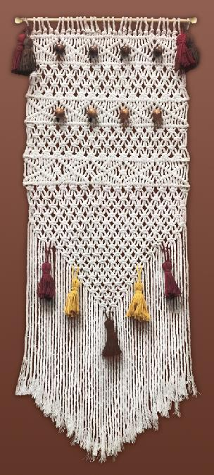 Desert Dreams Macrame' Wall Hanging Kit 15 x 38 inches