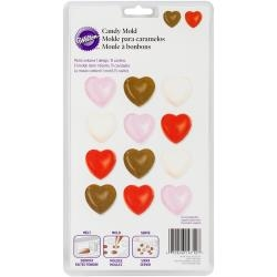 Hearts - Candy Mold by Wilton - 15 Cavity Mold