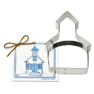 Church Cookie Cutter 5 3/4 inch Traditionals by Ann Clark