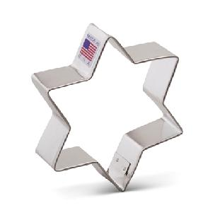 Star of David - 6 point Cookie Cutter 3 3/4 inches By Ann Clark