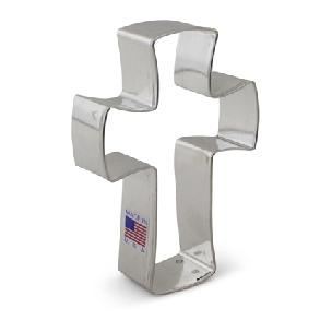 Cross - Holy Cross Cookie Cutter 4 1/8 inch by Ann Clark