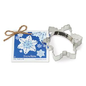 Snowflake Cookie Cutter 4 1/2 inch