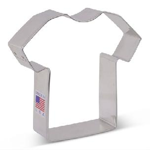 T Shirt Cookie Cutter 3.5 inch