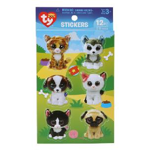 ty  Beanie Boo Pet Puffy 3-D Stickers