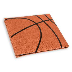 Basketball Textured Memory Book with 12 x 12 inch pages