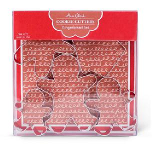 Gingerbread Boxed Set - Ann Clark Cookie Cutters